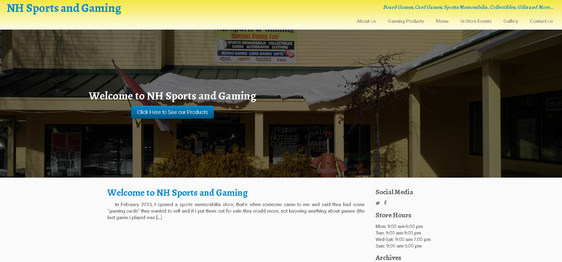 NH Sports and Gaming